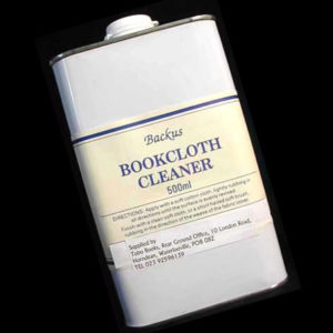 Backus Bookcloth Cleaner