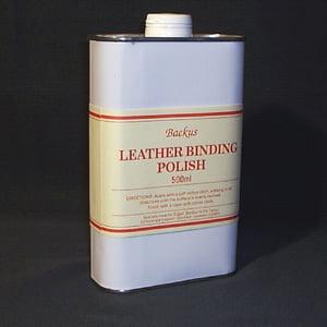Edgar Backus Leather Binding Polish